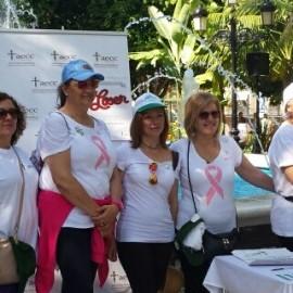 Marbella ha acogido hoy la caminata 'La vida sin tabaco sabe mejor' para conmemorar el Día Mundial Sin Tabaco