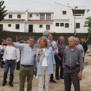 El Ayuntamiento realiza un parque en una parcela de más de 3.600 metros cuadrados aledaña al colegio María Auxiliadora II