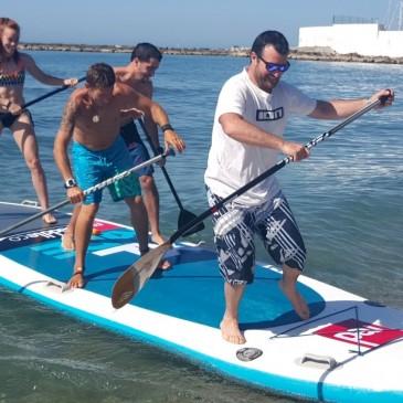 Participación masiva en las jornadas de pesca y en kayak en los primeros días de Solmarina