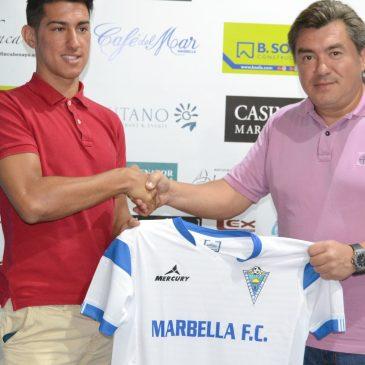 """Jorge Barba: """"Me gusta el proyecto del Marbella, vengo con ambición y ganas"""""""