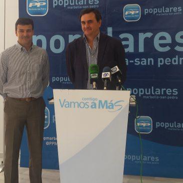 El PP acusa al equipo de gobierno de mantener una actitud servil con la Junta en contra de los intereses de Marbella
