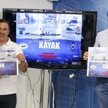 La playa del Alabardero de San Pedro Alcántara acogerá el 6 y 7 de junio el 5º Campeonato de España Open de Pesca Deportiva en Kayak con 120 participantes