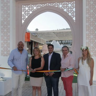 La Plaza Antonio Banderas de Puerto Banús acogerá hasta el 15 de septiembre la XV Muestra Internacional de Artesanía