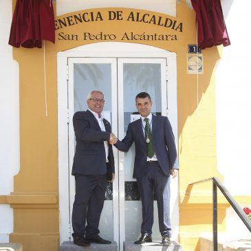 San Pedro Alcántara recupera su Tenencia de Alcaldía y asume competencias propias con la firma de un Decreto de Autonomía