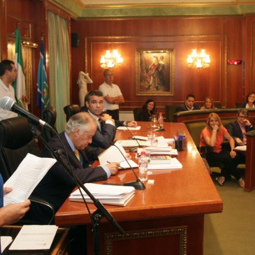 El Pleno da luz verde a la solicitud a la Junta para el archivo del expediente del deslinde entre Marbella y Benahavís y el cambio de uso de la terminal de autobuses de San Pedro