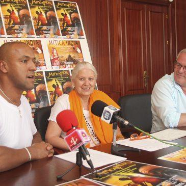 El Festival Mítica India se celebrará del 3 al 5 de julio en el Palacio de Deportes Elena Benítez de San Pedro Alcántara