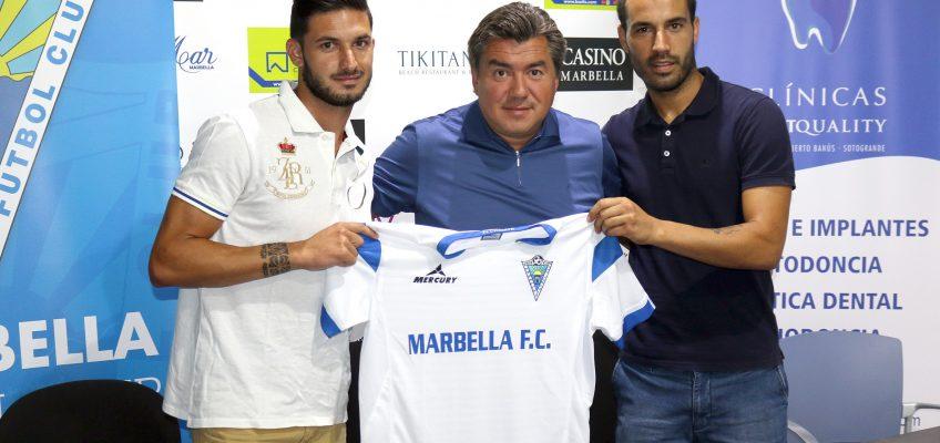 Javier Añón y Marcos Ruiz encabezan el nuevo proyecto del Marbella FC