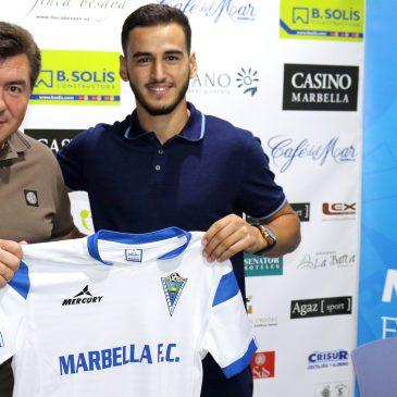 """Ayub El Harrak: """"Espero ayudar al club a conseguir sus objetivos y crecer como jugador"""""""
