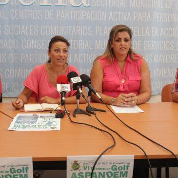 El Ayuntamiento respalda el VI Torneo de Golf de Aspandem que se celebrará el próximo 19 de julio en el Real Club de Golf Guadalmina