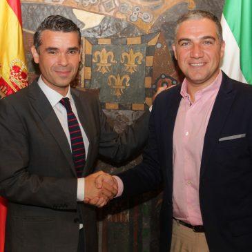 El Ayuntamiento y la Diputación abordan los principales proyectos que impulsan ambas administraciones en la ciudad