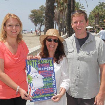 La Playa de la Salida de San Pedro Alcántara acogerá los días 25 y 26 de julio la décima edición del Festival Arte Sano
