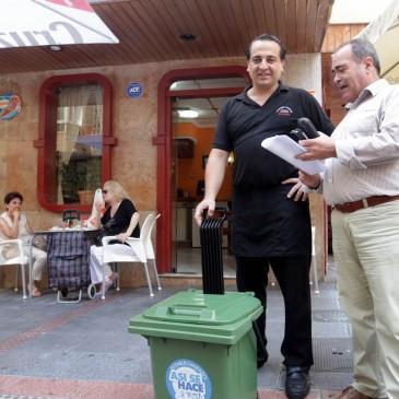 El Ayuntamiento impulsa una campaña para fomentar el reciclaje de vidrio en los establecimientos de hostelería