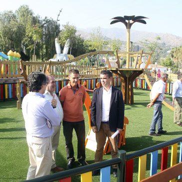 El Ayuntamiento inaugura el Parque María Auxiliadora que dota a Trapiche Norte de un amplio área de juego y esparcimiento en una parcela de 3.600 metros cuadrados