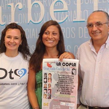 El Teatro Ciudad de Marbella acogerá el 31 de julio un certamen de copla española a beneficio de la Asociación de Diabéticos 'Adisol'