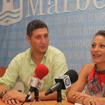 El Ayuntamiento firma un convenio de colaboración con el Marbella FC para que 15 menores con riesgo de exclusión puedan hacer el Campus de Verano