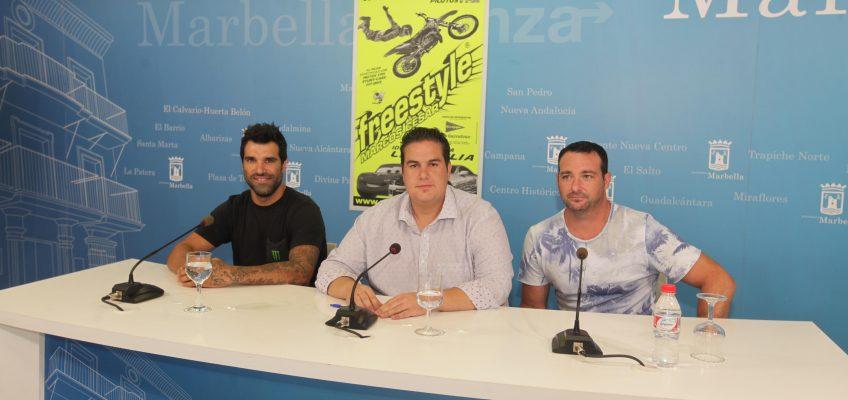La Plaza de Toros de Marbella acogerá el próximo 11 de agosto el espectáculo de motos 'Freestyle 2015' que celebra su tercera edición