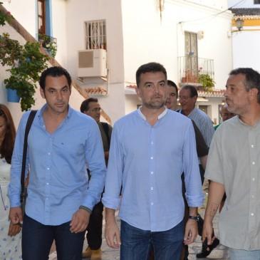 Maíllo reclama a la Junta inversiones para Marbella que compensen los años sin apoyo institucional