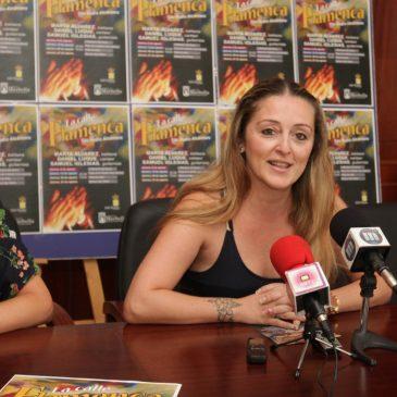 San Pedro acoge desde hoy el espectáculo 'La calle flamenca' con los artistas Marta Álvarez, Daniel Luque y Samuel Iglesias