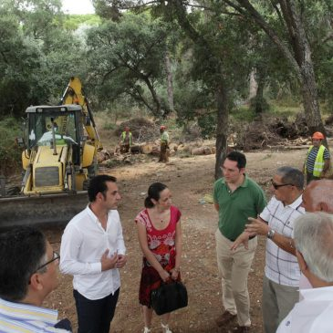 Díaz aboga por una plan entre administraciones para el mantenimiento de los 16 arroyos que surcan Marbella