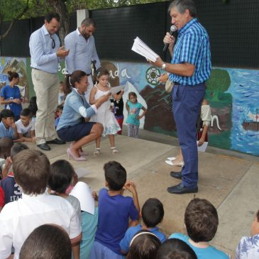Acto de clausura y entrega de diplomas del campamento de verano