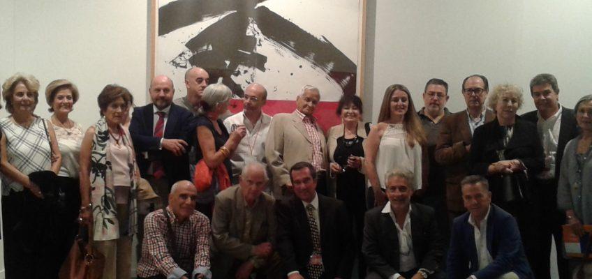 El Museo del Grabado Español Contemporáneo inaugura su expositor en la Feria Internacional de Arte ESTAMPA 2015