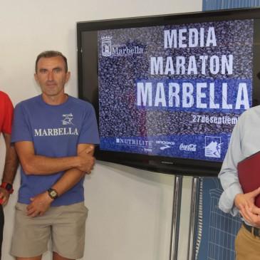 La XXX Media Maratón 'Ciudad de Marbella' se celebrará este domingo 27 de septiembre con 2.500 corredores
