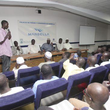 Jornada de convivencia de la comunidad senegalesa en el Palacio de Congresos Adolfo Suárez