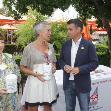 El alcalde respalda a la Asociación AFA Marbella en la conmemoración del Día Mundial del Alzheimer
