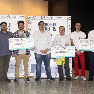 Jacinto Manuel Roselló gana la Muestra Joven de Cómic del programa Marbella Crea 2015