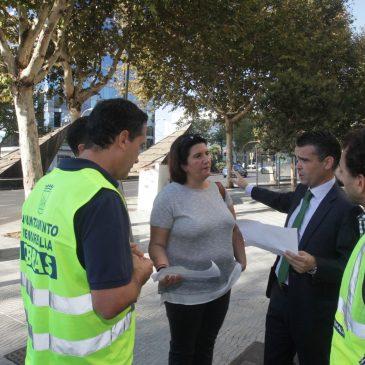 El Ayuntamiento refuerza los trabajos de limpieza de los imbornales en una campaña extraordinaria para evitar problemas de inundaciones en época de lluvias