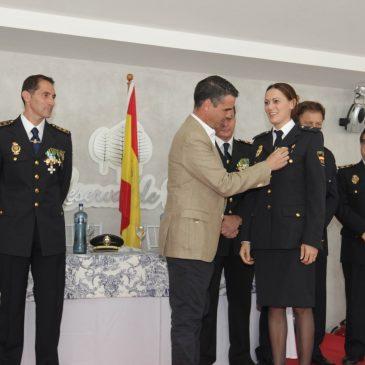 José Bernal, ha asistido hoy a los actos conmemorativos del Día de la Policía Nacional.