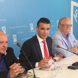 Más de 2.000 personas recorrerán distintos enclaves de la ciudad con motivo del 'Marbella 4 Days Walking'
