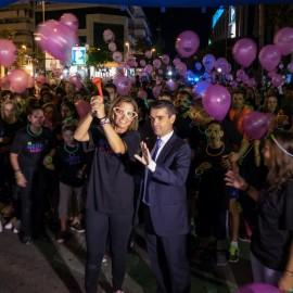 La II edición de NEON NIGHT MARBELLA reunió a 1200 personas en Puerto Banús
