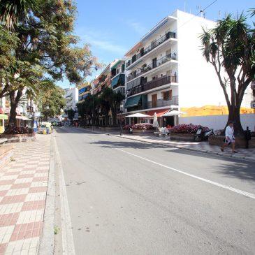 La remodelación de la Avenida Nabeul ampliará el espacio para los peatones e incluirá una vía destinada a los ciclistas