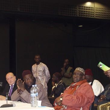 Más de 300 senegaleses participan en una jornada de convivencia en el Palacio de Ferias y Congresos