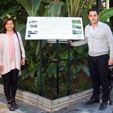 Una red de sendas urbanas con información sobre la flora y la fauna pondrá en valor la riqueza medioambiental del municipio