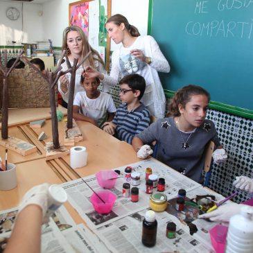 Tres colegios elaboran sus propios belenes dentro del Programa Marbella-San Pedro Educa