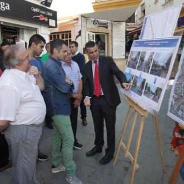 Obras de remodelación de la avenida Nabeul y la calle Félix Rodríguez de la Fuente
