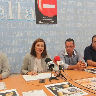 El Ayuntamiento se vuelca con las asociaciones para celebrar el Día Mundial Sin Alcohol