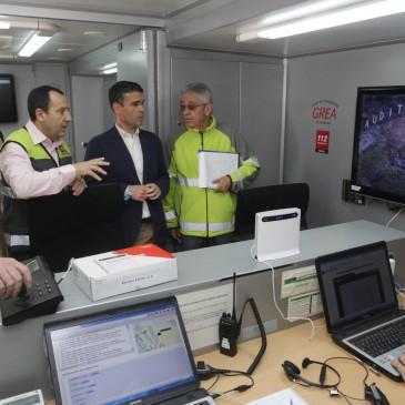 El simulacro de incendio forestal desarrollado en Marbella ha movilizado a 130 efectivos para poner a prueba los mecanismos de coordinación y respuesta