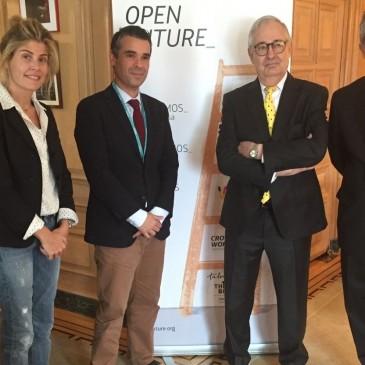 El alcalde acuerda con Telefónica la apertura en Marbella del tercer espacio de innovación para emprendedores de Andalucía dentro de la iniciativa 'Open Future'