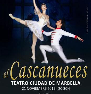 """El Teatro Ciudad de Marbella acogerá este sábado la obra """"El Cascanueces"""" a cargo de Russian Classical Ballet"""