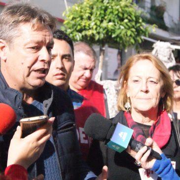 EL PSOE  CIERRA LA CAMPAÑA EN SAN PEDRO PIDIENDO EL VOTO PARA PEDRO SÁNCHEZ