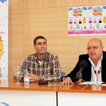 El Palacio de Ferias y Congresos Adolfo Suárez será sede este fin de semana del Festival a modo de parque temático 'Un día con Peppa Pig'