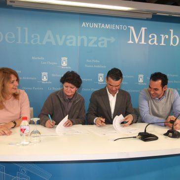 El Ayuntamiento refrenda su apoyo a la Triple A con un convenio de colaboración dotado de 20.000 euros para sus gastos de mantenimiento
