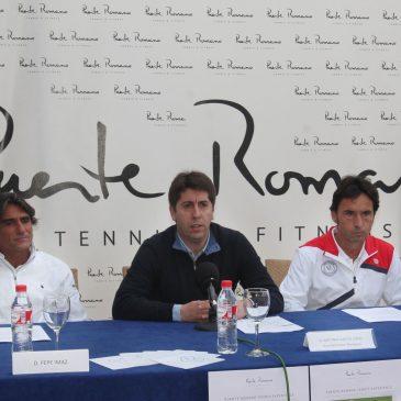 El Ayuntamiento respalda la iniciativa Puente Romano Tennis Experience para ayudar a familias sin recursos a través del deporte