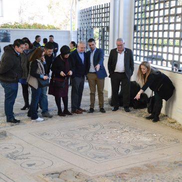 El Ayuntamiento agilizará un plan de protección en los bienes culturales del municipio para incrementar la seguridad tras el acto vandálico en la Villa Romana de Río Verde