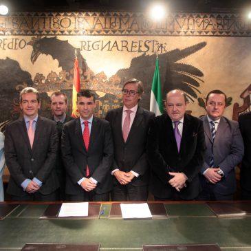 El Ayuntamiento y AEHCOS retoman un convenio para promocionar el turismo de congresos de la ciudad