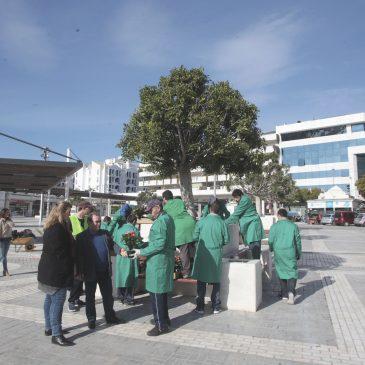 Arranca el taller de jardinería impulsado por el Ayuntamiento de Marbella y ASPANDEM