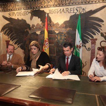 El Ayuntamiento firma un convenio con Aspandem para garantizar el funcionamiento diario del colectivo